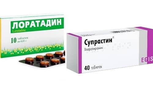 Супрастин и Лоратадин - противоаллергические средства, обладающие похожими фармакологическими свойствами