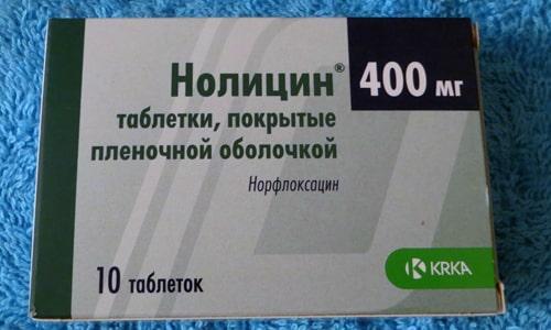 Нолицин может применяться при проведении терапии гастроэнтерита, шигеллеза и сальмонеллеза