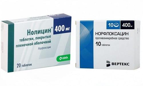 При ослаблении иммунитета в организме начинает активизироваться патогенная флора, с которой помогут бороться Нолицин и Норфлоксацин