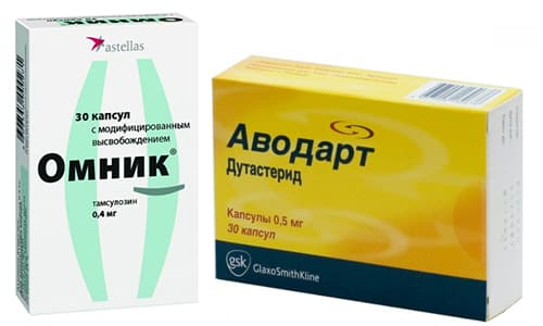 Для лечения гиперплазии предстательной железы врачи нередко назначают такие препараты, как Аводарт и Омник