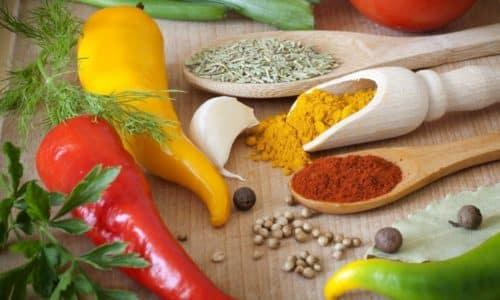 Чтобы достоверность результатов исследования не вызывала сомнений, следует отказаться от использования острых специй для сдабривания пищи