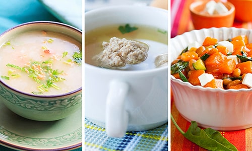 Для поджелудочной железы полезными будут куриные и овощные бульоны, различные овощные салаты