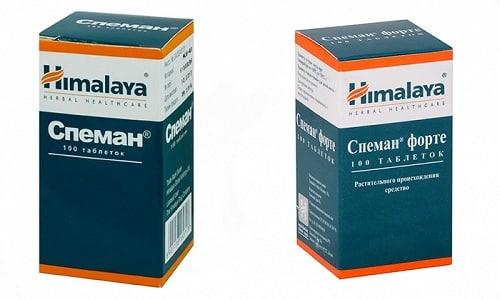 Лекарственные препараты Спеман и Спеман Форте применяются в лечении заболеваний, связанных с мужским здоровьем