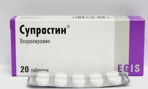 Супрастин назначают при пищевой непереносимости продуктов, дерматите, зуде, экземе, крапивнице