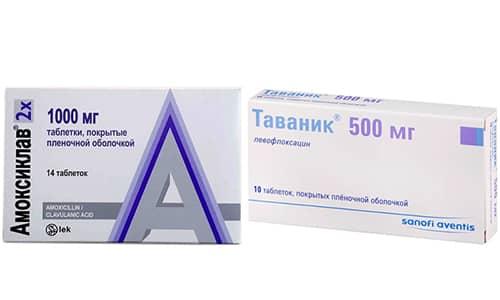 Таваник и Амоксиклав являются популярными антибиотиками, применяемыми для проведения медикаментозной терапии заболеваний, спровоцированных патогенной бактериальной микрофлорой