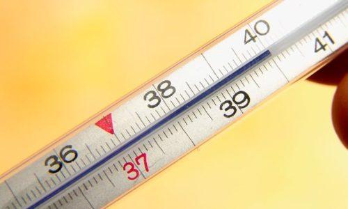Повышение температуры - один из симптомов никтурии
