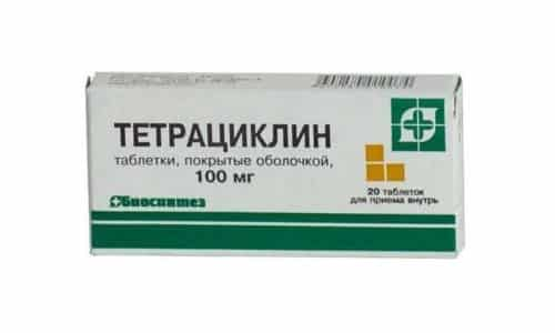 Тетрациклин - антибиотик широкого спектра активности и относится к группе тетрациклинов