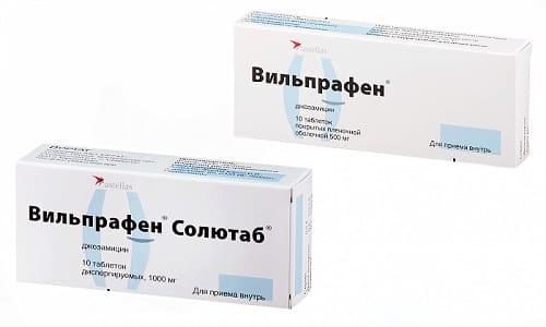 Антибактериальные препараты Вильпрафен и Вильпрафен Солютаб назначаются врачами при инфекционно-воспалительных заболеваниях различных органов