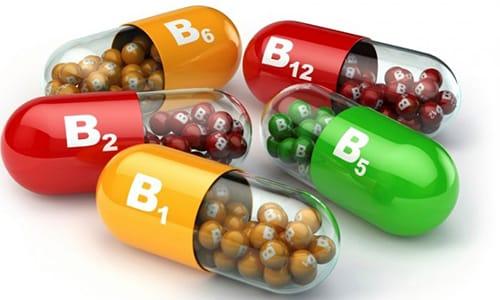 В состав куркумы входят витамины группы B