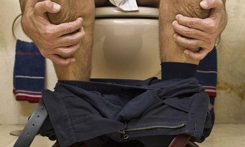 Один из симптомов фиброзных изменений - это постоянная диарея
