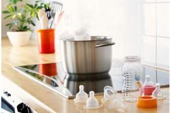 Стерилизация детской посуды для профилактики стоматита