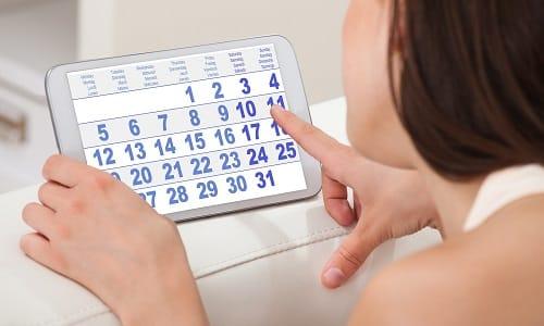 После того как на коже уже появилась сыпь, заболевание проходит в течение 7-10 дней при условии правильно подобранной методики лечения