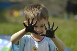 Грязные руки - одна из причин поноса