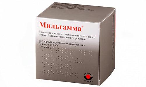 Мильгамма вместе с Диклофенаком помогает при радикулите и варикозе