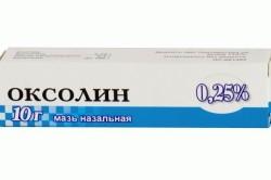 Применение Оксолиновой мази от стоматита
