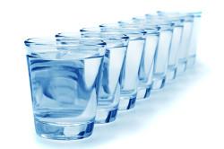 Питьевая вода при запорных явлениях