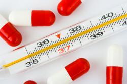 Высокая температура - симптом кишечной инфекции