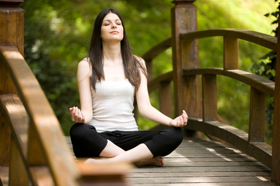 Упражнения йоги для похудения