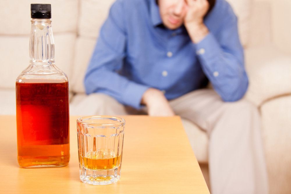 начатый алкоголь