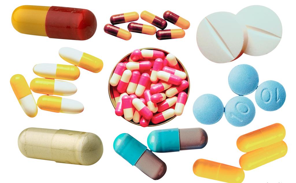таблетки на выбор