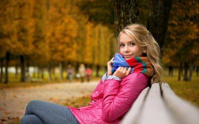 подросток в парке