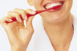 Чистка зубов два раза в день