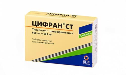 Цифран СТ применяется при инфекциях кожи и мягких тканей, в т. ч. возникающих при диабете синдром стопы
