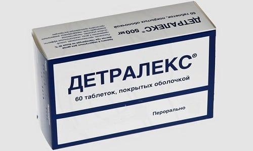 Детралекс обладает венотоническим и ангиопротекторным действиями