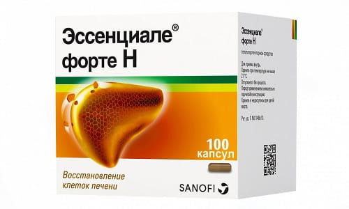 Капсулы Эссенциале Форте при заболеваниях печени применяются перорально, 3 раза в сутки