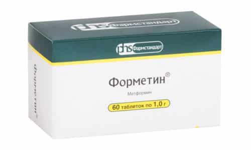 Форметин усиливает утилизацию глюкозы, нормализует вес