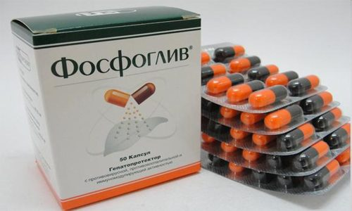 Фосфоглив может применяться для лечения псориаза, экземы, нейродермита, интоксикационного синдрома любой этиологии