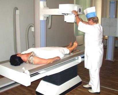 Рентгенологическое исследование паха