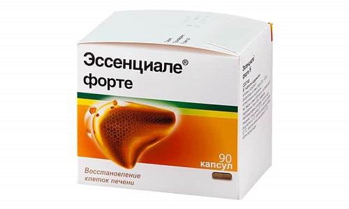 Прием Эссенциале рекомендован при токсикозе во время беременности, а также для терапии нейродермитов, псориаза, муковисцидоза