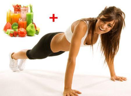 Спорт плюс правильное питание все исправит!