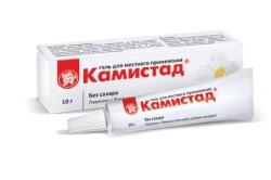 """""""Камистад-гель"""" при прорезывании зубов"""
