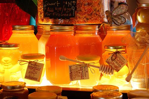 сладкий цветочный мед