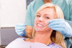 Осмотр у дантиста периодонтите