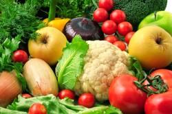 Овощи и фрукты для нормализации уровня эритроцитов