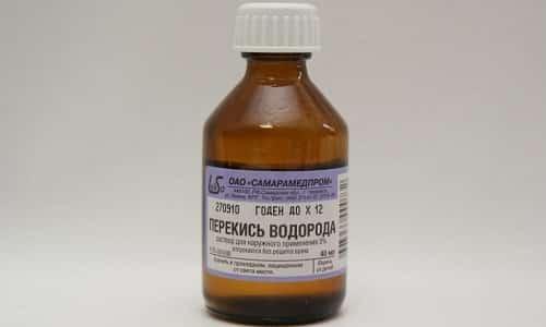 Перекись водорода - это антисептическое средство, которое способно помочь в борьбе с герпесом