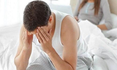 Снижение полового влечения и потенции - симптом герпеса