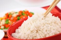 Отварной рис при поносе