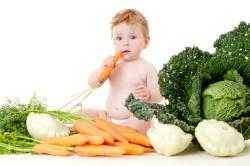Употребление фруктов и овощей при запорах у детей