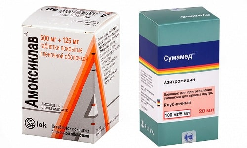 Сумамед и Амоксиклав - препараты антибактериального действия, предназначенные для лечения заболеваний инфекционного происхождения
