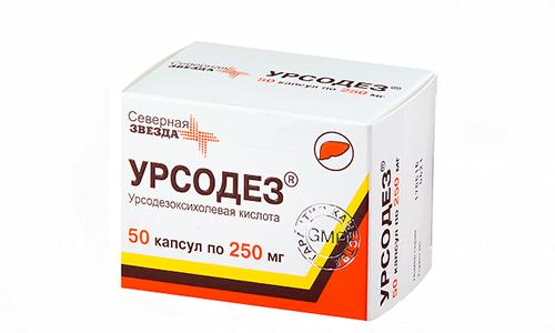 Урсодез снижает выработку холестерина в печени и увеличивает его растворимость в гепатобилиарной системе