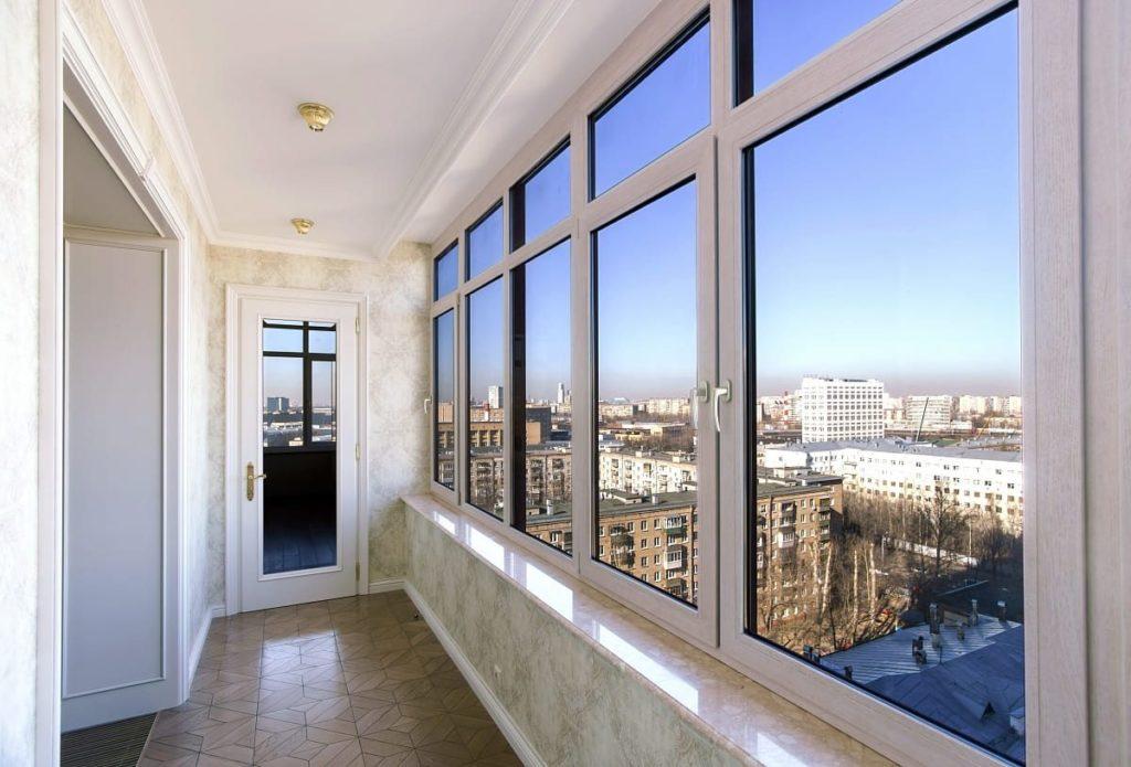 Расчет стоимости остекления балкона